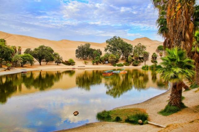 Những ốc đảo thiên đường mọc ngay giữa sa mạc
