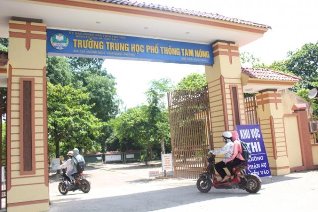 Trường THPT Tam Nông: Điểm sáng chất lượng giáo dục đào tạo của tỉnh Phú Thọ