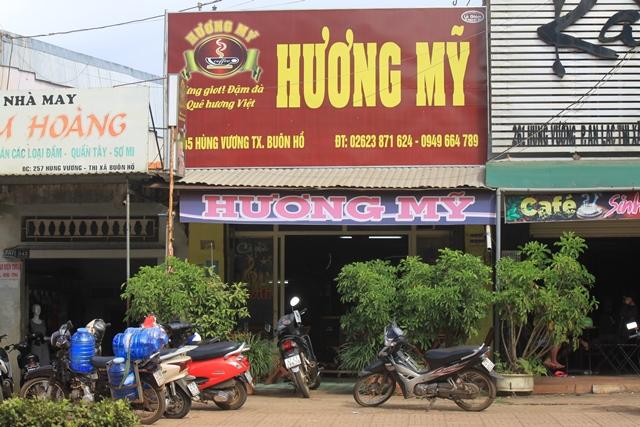 Cà phê Hương Mỹ - từng giọt đậm đà quê hương Việt
