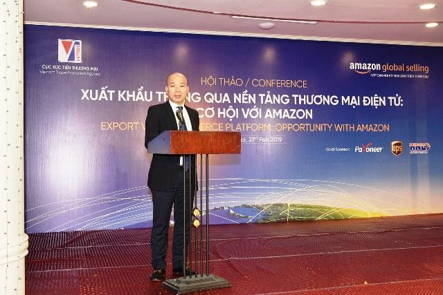 Cục Xúc tiến thương mại và Amazon công bố kế hoạch hỗ trợ 100 DNVVN Việt Nam