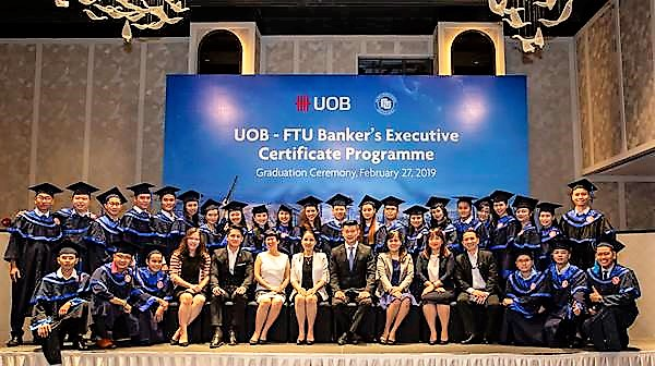 Ngân hàng UOB Việt Nam đào tạo nâng cao cho các chuyên viên