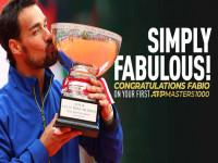 Chung kết Monte Carlo: Fognini đoạt danh hiệu ATP Masters 1000 đầu tiên