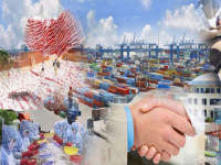 Thương mại toàn cầu đang giảm, xuất khẩu Việt Nam có bị ảnh hưởng?