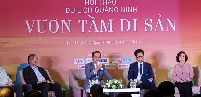 """Quảng Ninh: Hội thảo du lịch """"Nâng tầm di sản"""""""