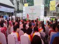 Khám sức khỏe miễn phí cho người dân tại Ngày hội sức khỏe cộng đồng