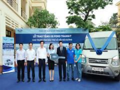 Ford Việt Nam tặng xe Transit cho Trung tâm Bảo trợ Xã hội tỉnh Hải Dương
