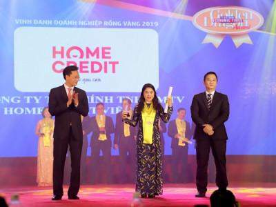 Home Credit vinh dự nhận giải thưởng Rồng Vàng lần thứ sáu