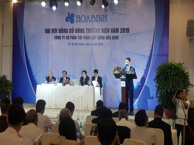 Hòa Bình Group: Đặt kế hoạch doanh thu 18.600 tỷ đồng trong năm 2019