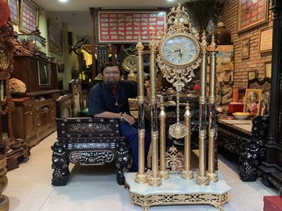 Doanh nhân Nguyễn Hoàng Sang ủng hộ đấu giá chương trình