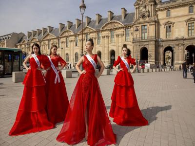 Ngắm thí sinh Hoa hậu Thế giới Người Việt tại Pháp 2019
