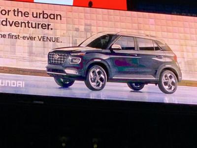 Hyundai Venue thiết kế ngoại thất như Audi