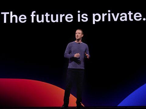 """Tầm nhìn của Facebook: """"tương lai là riêng tư"""""""
