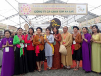 Độc đáo ẩm thực chay Tâm An Lạc tại Đại lễ Vesak 2019