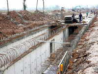 Gói thầu xây dựng hệ thống cống tại Hà Đông: Dấu hỏi về năng lực của An Xuân Thịnh?