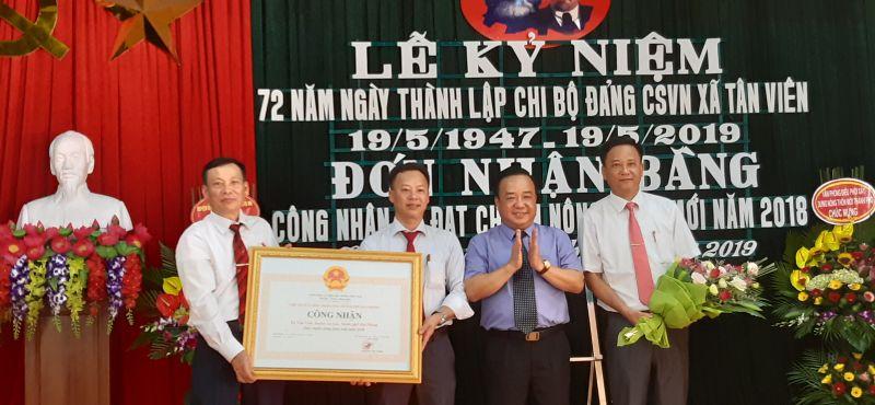 Hải Phòng: Tân Viên kỷ niệm thành lập chi bộ đầu tiên và đón nhận đạt chuẩn nông thôn mới