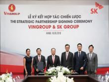 Đầu tư 1 tỉ USD, SK Group chính thức trở thành đối tác chiến lược của Vingroup