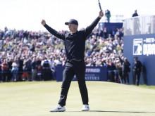Golfer 22 tuổi, Marcus Kinhult đột phá tại European Tour