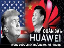 Những đòn tấn công liên tiếp của TT Trump từ Huawei tới Biển Đông