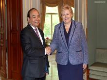 Thủ tướng thăm Na Uy: thúc đẩy sớm hoàn tất đàm phán và ký FTA Việt Nam- châu Âu