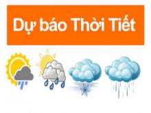Dự báo thời tiết hôm nay 13.5.2019: Cảnh báo mưa giông, mưa đá