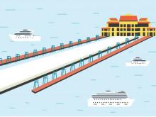 Khám phá bến thủy nội địa mới đẳng cấp thăm vịnh Hạ Long