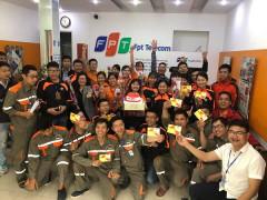 Chi nhánh FPT Quảng Bình giỏi Về kinh doanh, chú trọng công tác  an sinh xã hội