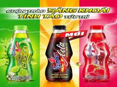 Nước tăng lực Number 1 Cola mang đến sự sảng khoái cho những người yêu thích vị Cola