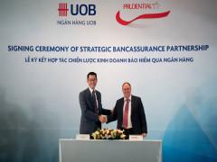 Prudential Việt Nam và UOB Việt Nam hợp tác kinh doanh bảo hiểm qua ngân hàng