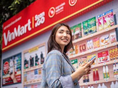 Vingroup triển khai siêu thị ảo Vinmart tại các địa điểm công cộng