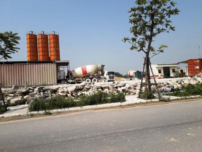 Công ty Việt Nhật: Ngang nhiên bán bê tông thành phẩm ra ngoài để trục lợi