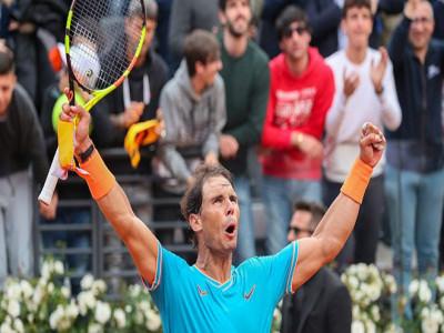 Nadal đả bại Djokovic để lên ngôi tại Rome Masters