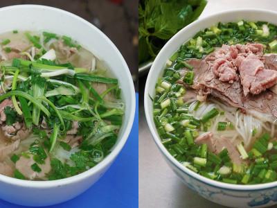 7 món nổi tiếng nhưng khác biệt ở Sài Gòn và Hà Nội