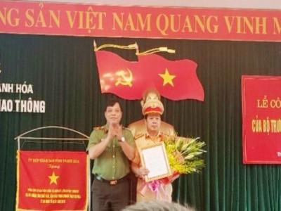 Bổ nhiệm đại tá Lê Văn Chiến làm Trưởng phòng CSGT Công an Thanh Hóa