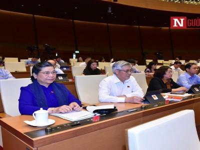 Quốc hội tiếp tục thảo luận về luật Quản lý thuế và luật Kiến trúc