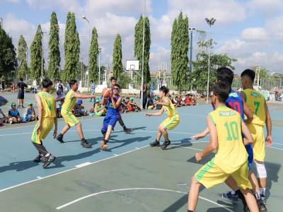 Giải bóng rổ Festival trường học TP.HCM – Cúp Milo 2019  chào đón 156 đội tranh tài