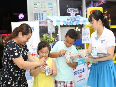 Nestlé Việt Nam thêm lựa chọn sức khỏe cho người tiêu dùng với sữa nước ít đường