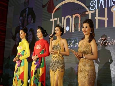 Tuấn Thi Stylist – Đơn vị tài trợ đồng phục trong chương trình Nữ hoàng thương hiệu Việt Nam 2019