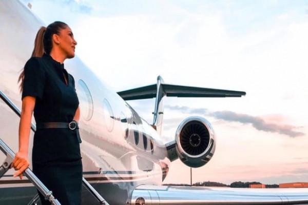 Nghề tiếp viên hàng không riêng cho giới thượng lưu
