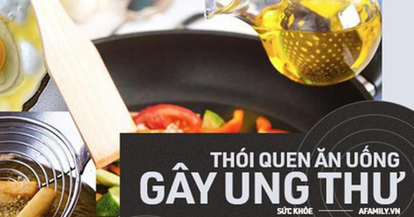 Nguy cơ gây ung thư cho cả gia đình vì thói quen dùng dầu ăn mà nhiều bà nội trợ Việt tưởng vô hại