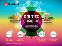 Nhận ngay ưu đãi hấp dẫn tại CGV, Traveloka, Shopee, Grab với thẻ quốc tế SeABAnk