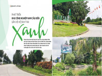 Phát triển khu công nghiệp Nam Cầu Kiền gắn với hệ sinh thái xanh