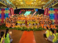 Hơn 3000 học sinh, sinh viên tham dự Khoá tu mùa Hè lần 1 năm 2019 tại chùa Ba Vàng