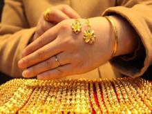 Giá vàng trong nước tăng mạnh trở lại ngưỡng 39 triệu đồng/lượng