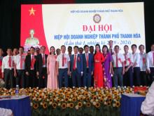"""Đại hội Hiệp hội Doanh nghiệp TP Thanh Hóa: """"Kết nối giá trị, hội tụ tinh hoa"""""""