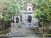 Đền thờ Tô Hiến Thành trên dãy núi Trường Lệ