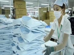 Xuất khẩu hàng dệt may, điện tử tăng