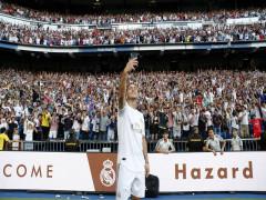 Chùm ảnh: Hazard ra mắt hoành tráng ở Real Madrid