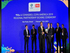 TCL hợp tác với Liên đoàn Bóng đá Nam Mỹ mùa giải Copa America 2019