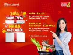 Săn thẻ quốc tế SeABank trong tay, hoàn ngay 10% khi mua sắm tại Bic C và Go!