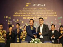 Thỏa thuận hợp tác giữa Be Group và VPBANK hướng đến hệ sinh thái tài chính công nghệ